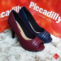 Sapato Peep Toe Piccadilly