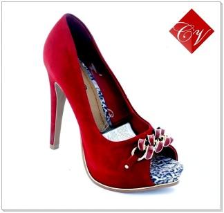 Sapato Peep Toe Bottero