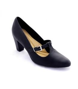 Sapato feminino Scarpin Piccadilly 700057 preto